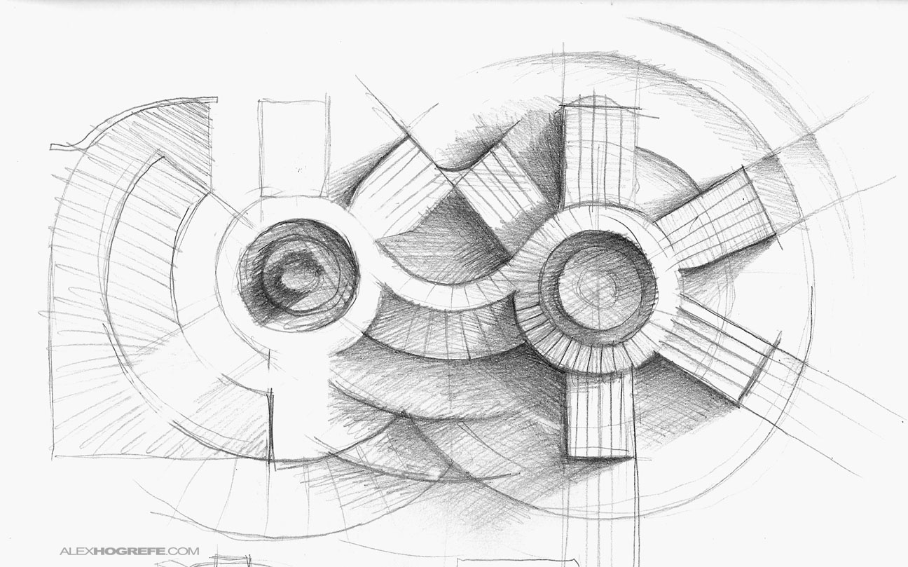 Excellent Architectural Hand Drawings 1296 x 809 · 216 kB · jpeg