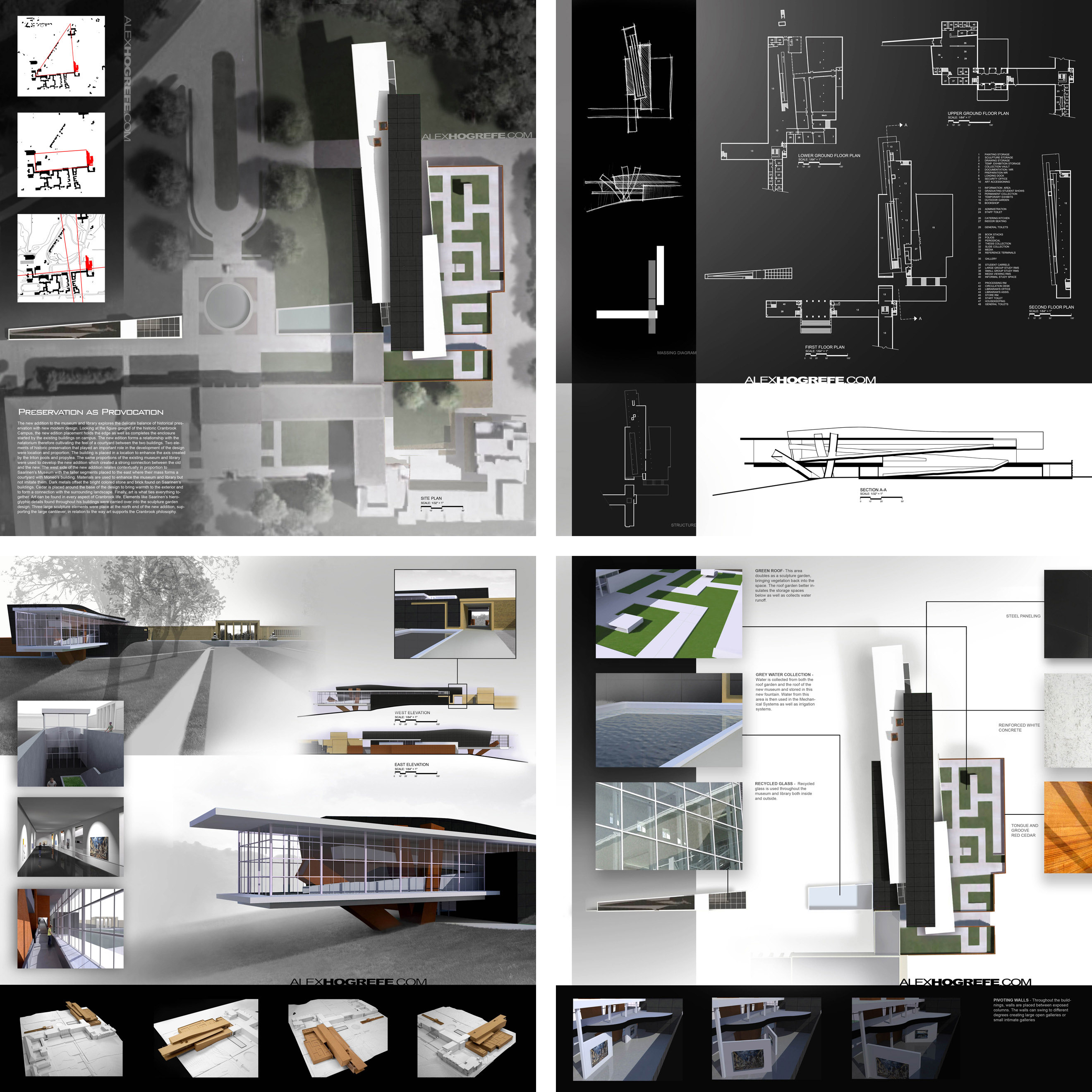 Past Presentation Boards Part Visualizing Architecture - Unique design presentation board layout design