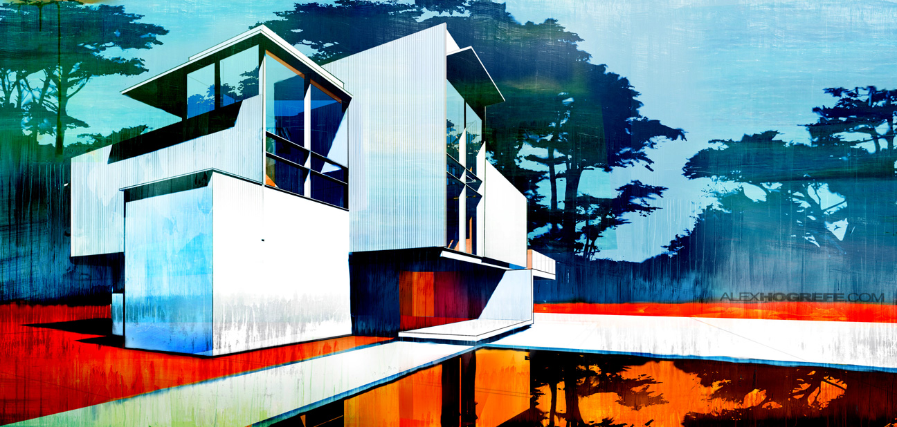 Artistic Architecture Paintings