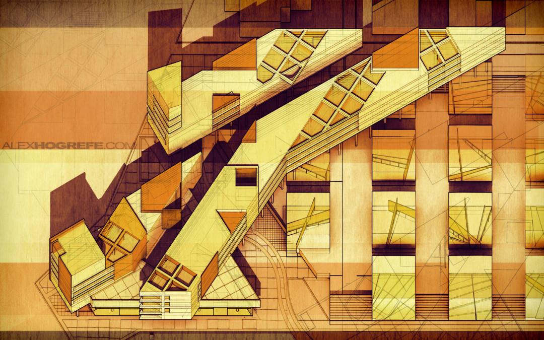 Plan Oblique Illustration Part 1 Visualizing Architecture