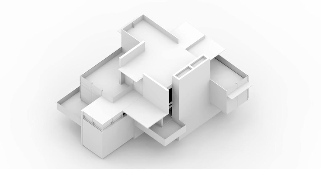 6 clay model rendering