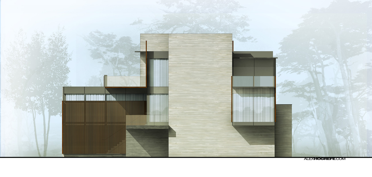 Exterior Elevation Shadow Tweaking Visualizing Architecture