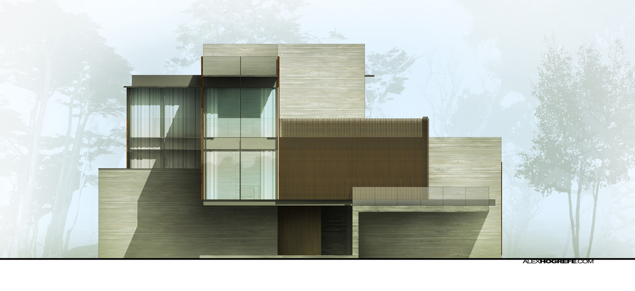Front Elevation Glass Pictures : Exterior elevation shadow tweaking visualizing architecture