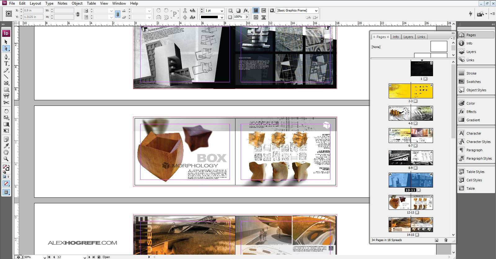 indesign: why use it? | visualizing architecture, Presentation templates