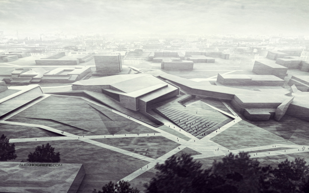 Adding Depth Via Fog Visualizing Architecture