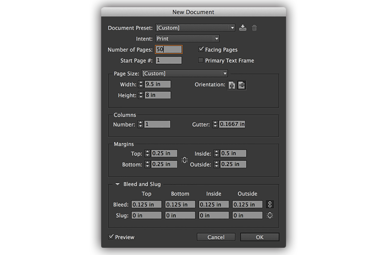 Portfolio_workflow_10_Indesign_settings