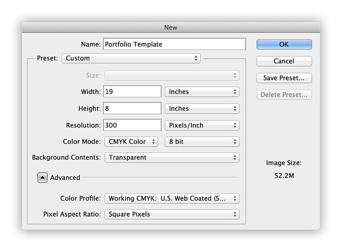 Portfolio_workflow_1_PSD_setup