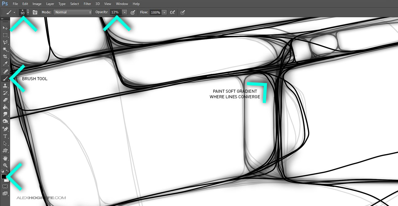 Pedestrian_Traffic_Tutorial_8_Brush_Tool