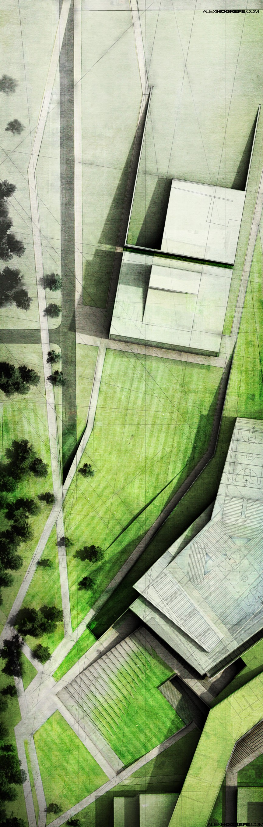 Thesis Site Plan Extended