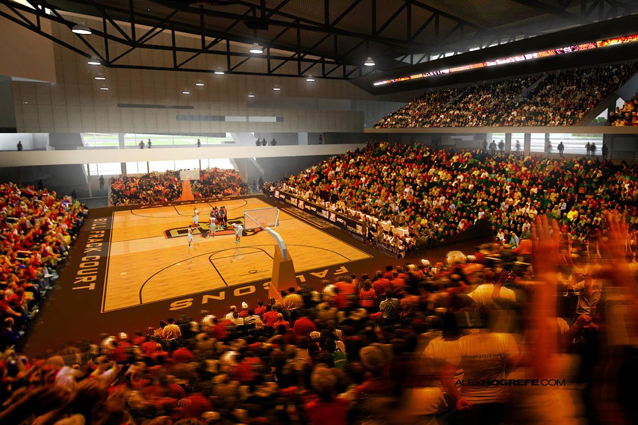 Arena Interior Perspective