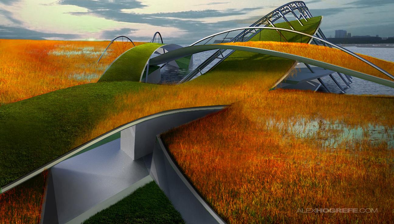 Maritime Museum Landscape Perspective