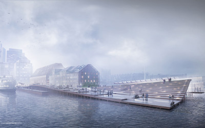 Wharf Design: Foggy Morning Perspective: Part 2