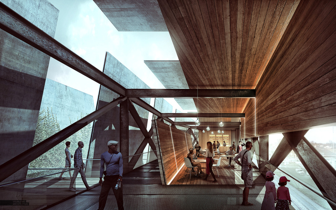 Train Pavilion Interior Study
