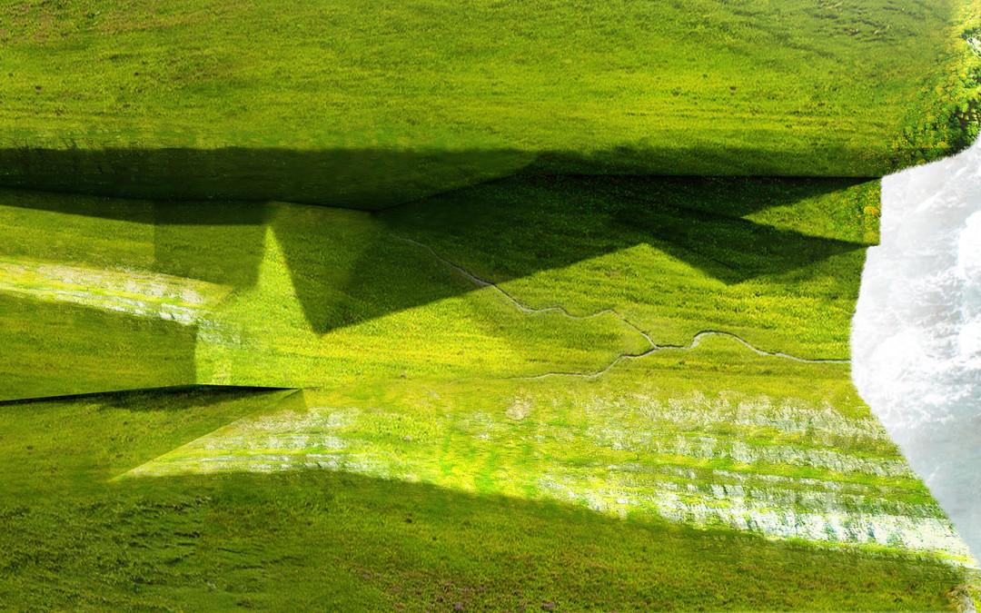 Cliff Landscape Study