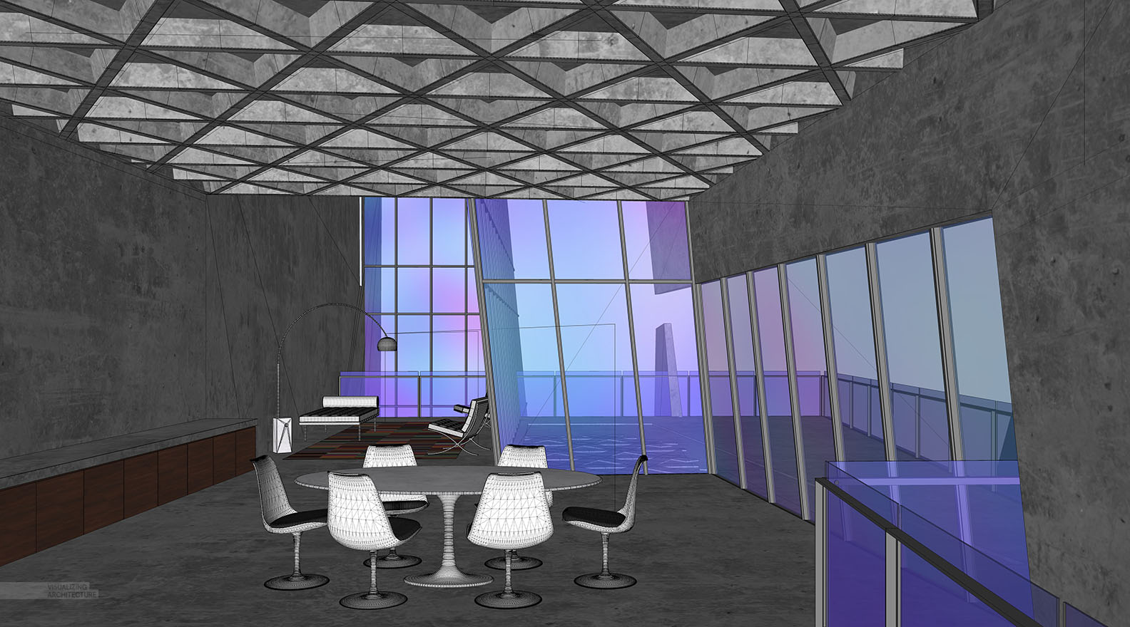 cliff_interior_2_sketchup_Materials