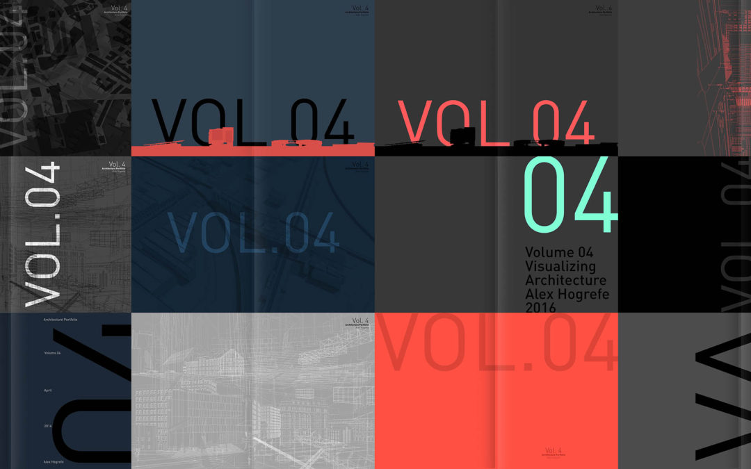 Portfolio Vol. 4 Cover Designs