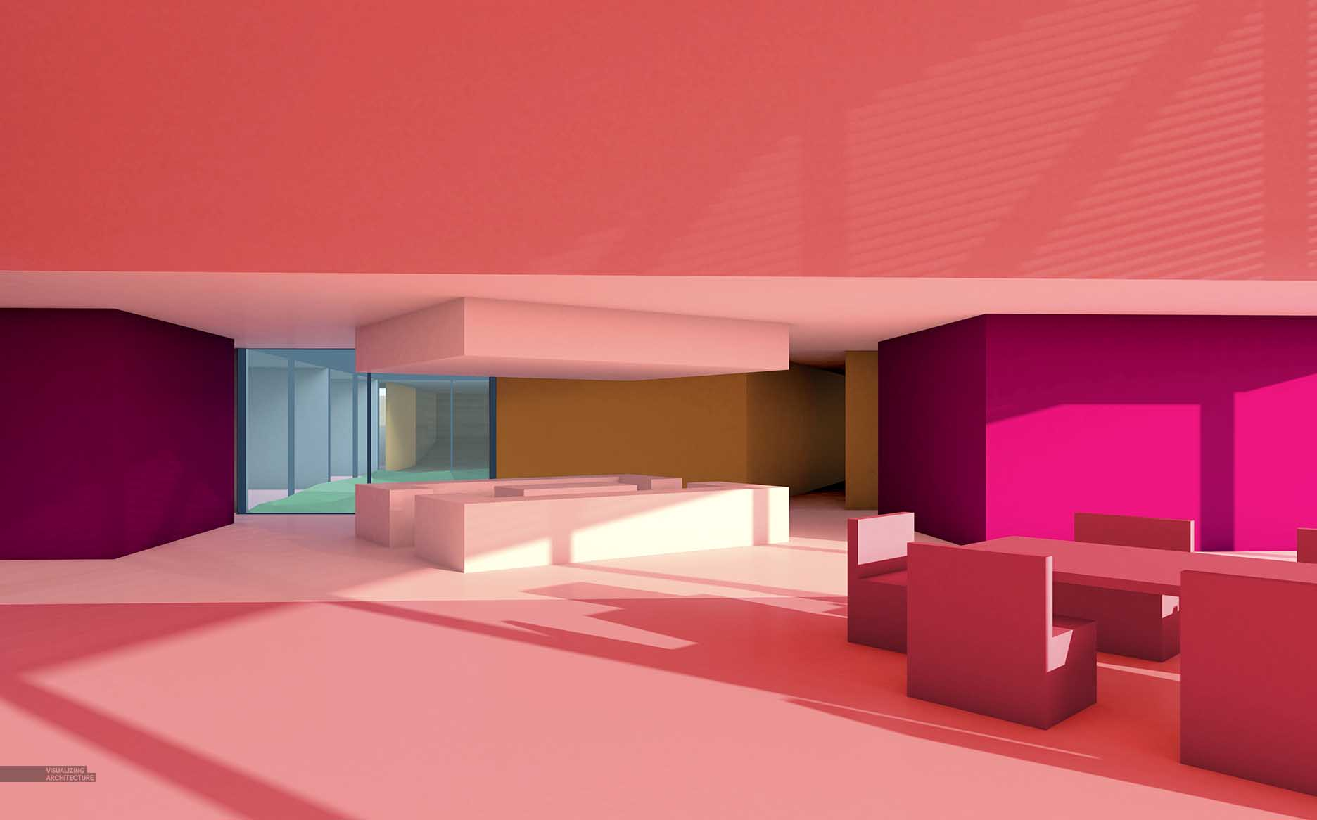 Desert Abstract Interior Studies | Visualizing Architecture
