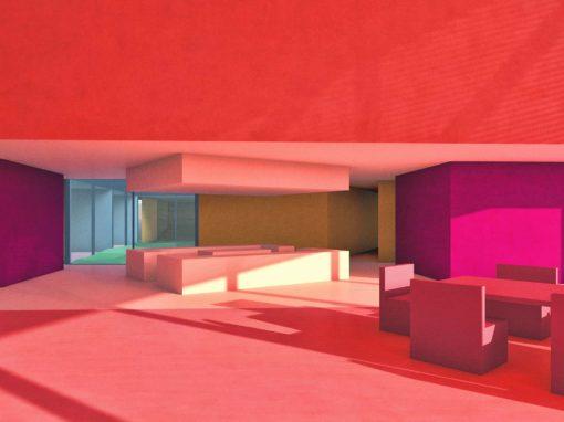 Desert Villa Abstract Interior