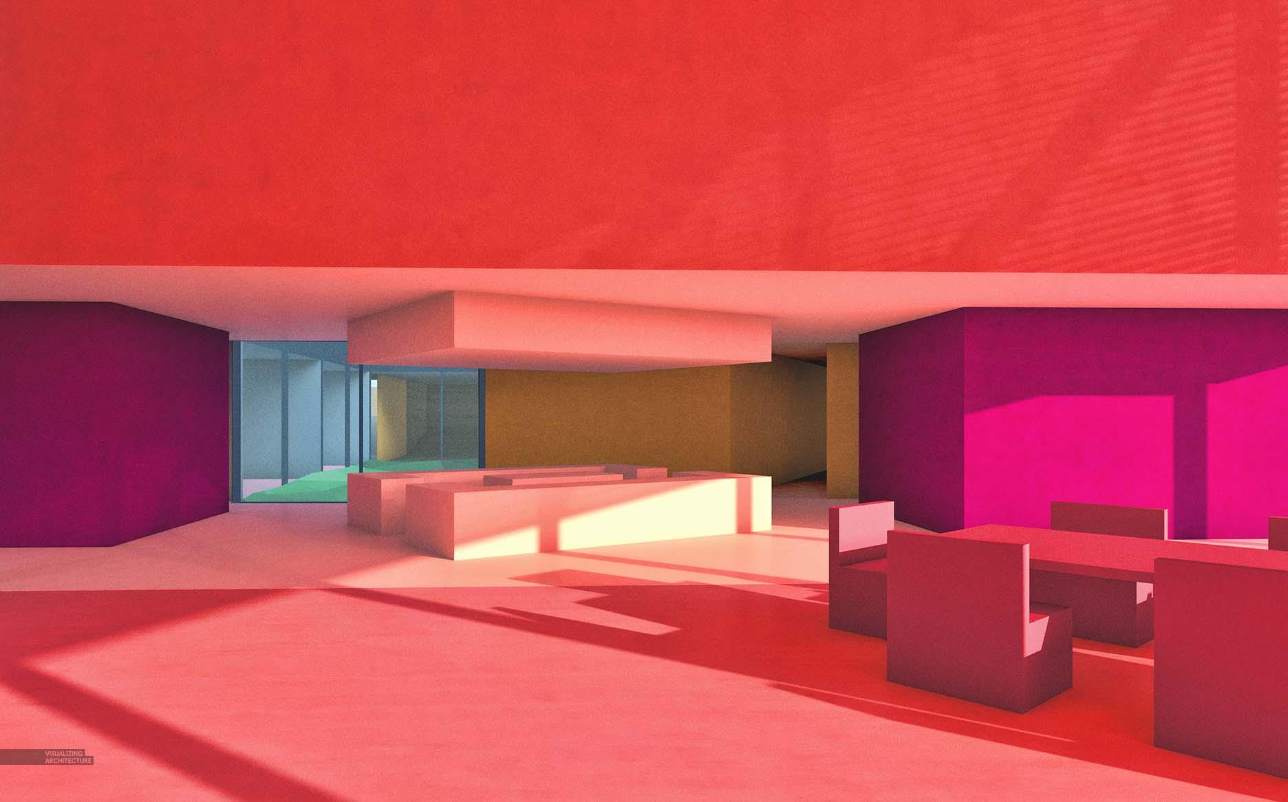 All tutorials visualizing architecture for Schematic design interior layout vignette