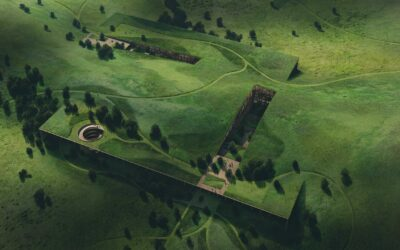 Texas Prairie Aerial