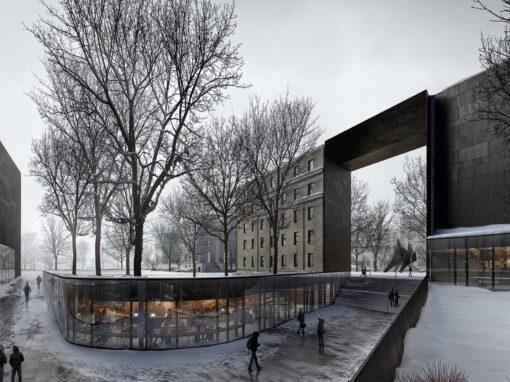 MIT Winter Plaza