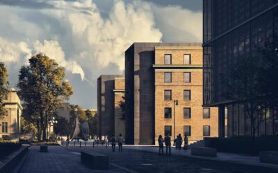 MIT Student Hub: Pedestrian Street